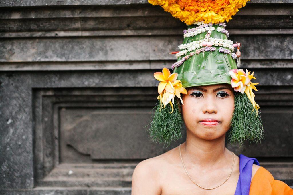 Salahsatu karya dalam pameran Rekam Wajah. image by Joe Christian - Faces of Bali .image by Joe Christian - Faces of Bali.