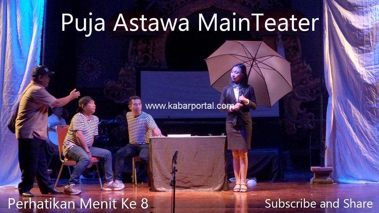 Puja Astawa Main Teater, Ngakak Abis