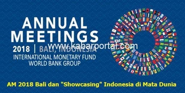 AM 2018 Bali yang akan diselenggarakan di Nusa Dua Bali pada bulan Oktober 2018