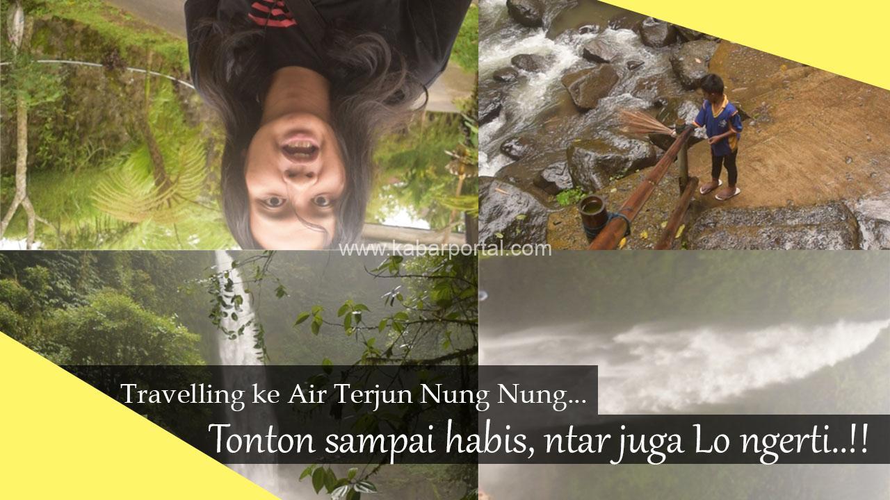 air terjun nung nung petang badung/kabarportal.com