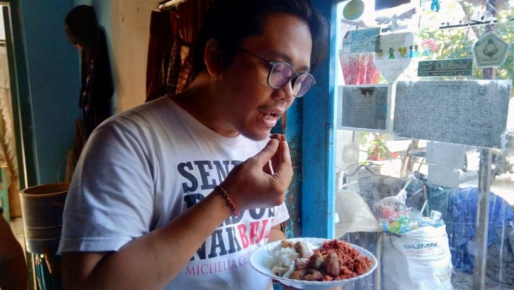 Lawar barak, Kuliner Bali/ kabarportal