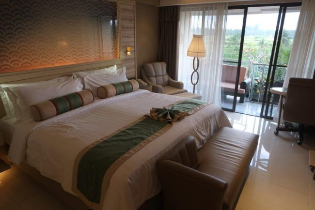 SereS Springs Resort & Spa Ubud/ kamar hotel menghadap timur/ Kabarportal