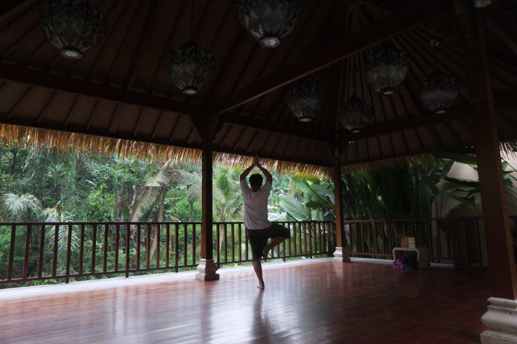 SereS Springs Resort & Spa Ubud/ Fasilitas Yoga/ Kabarportal